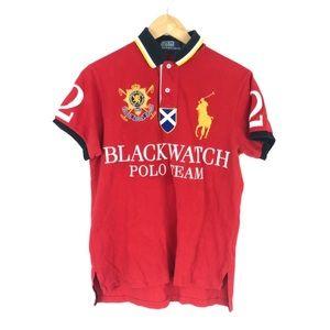 vintage 1996 polo ralph lauren blackwatch polo